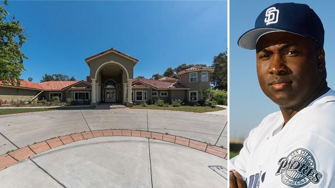 Now Bank Owned, Tony Gwynn's Former Poway Home Lists For