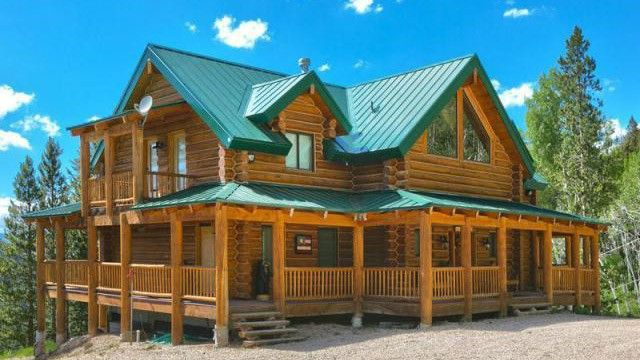 Grain Of Truth 8 Log Cabins That Will Floor You Realtor