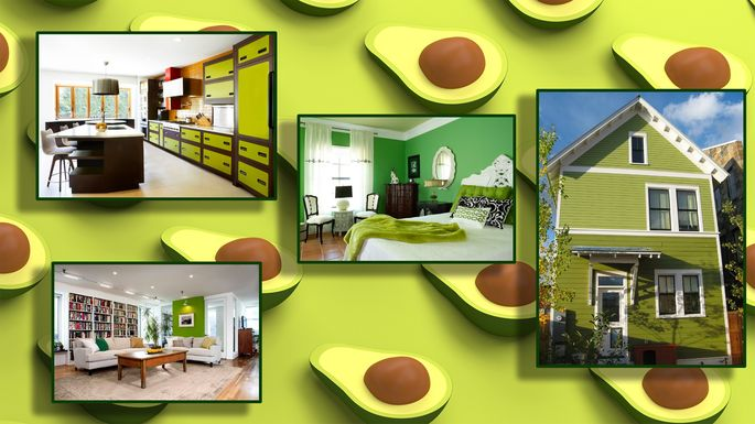 Ode To Avocado Decor Heres Just How Good And Bad It Can Get