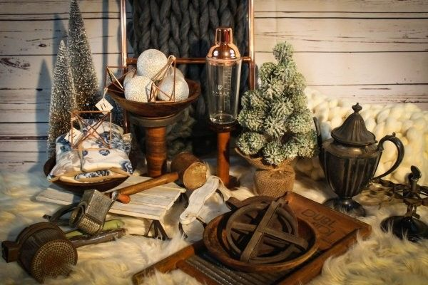 The Heirloom Box from Refined Relics is a monthly collection of home decor items that will remind you of days of yore.