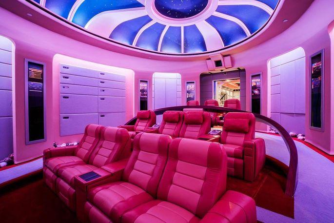 """Star Trek""-themed theater"