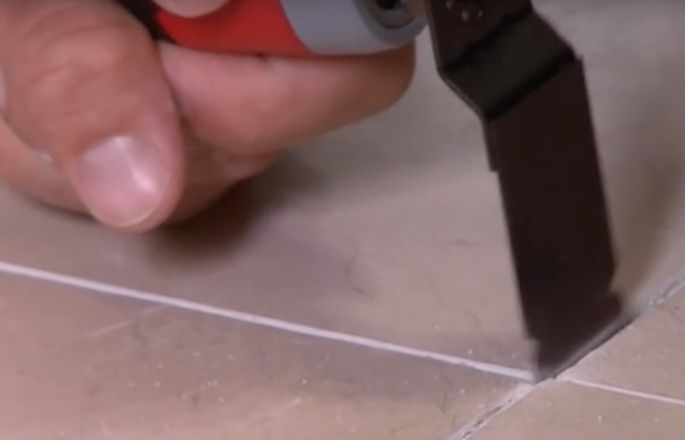 Remove Grout With A Carbide Blade On Hand Or Electric Saw