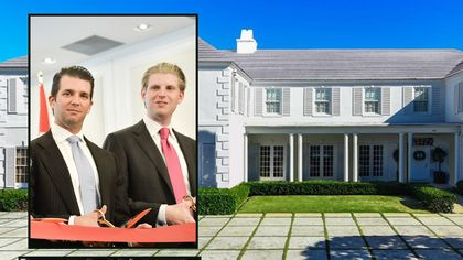 Trump Sons Turn Their Aunt's House in Florida Into a Rental for $100K a Month
