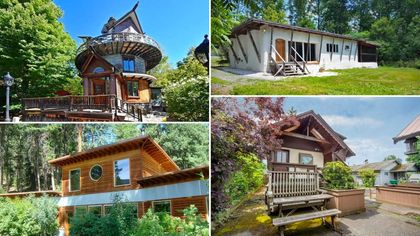 Labors of Love! 8 Hand-Built Homes Provide an Escape From the Norm