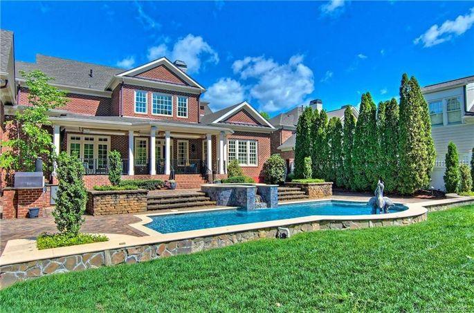Ron Rivera's home in Charlotte, NC