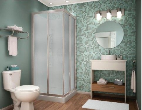 An economical solution for any bathroom