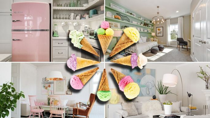 Ice Cream Colors Are The 2018 Decor Trend Youll Want To Scoop Up