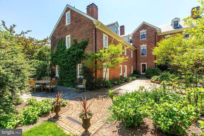 Half-acre of gardens and patios