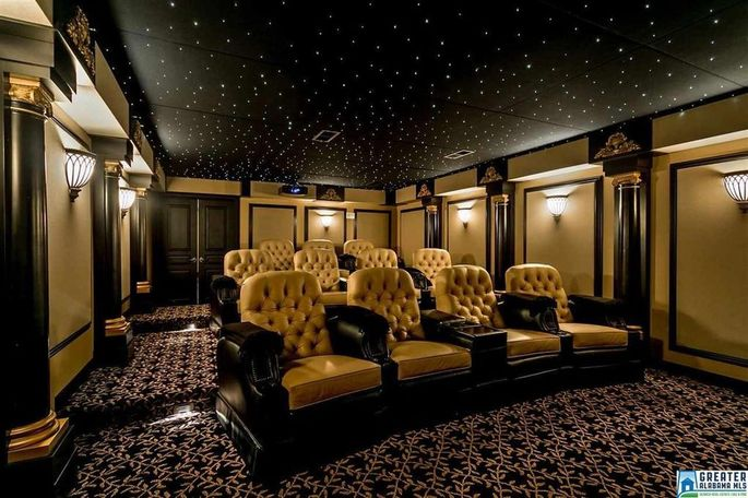 Charming Home Theater