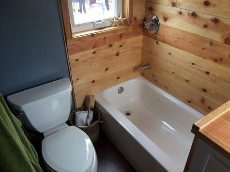 Sacramento State Tiny House Bathroom