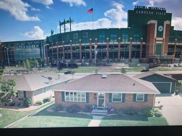 Green Bay Packers fan house