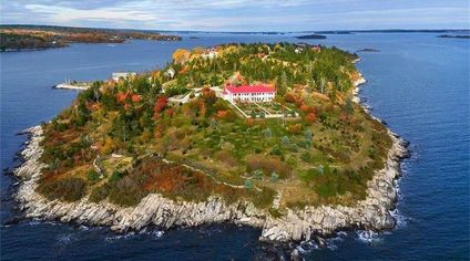 Private Island Near Portland, Maine, Asking Nearly $8 Million