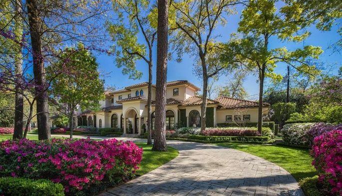 Pro golfer Mark O'Meara's Houston home