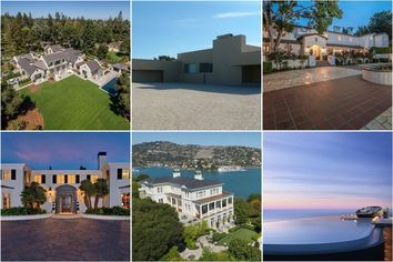 2015's 10 Most Expensive Home Sales Total Almost $445M