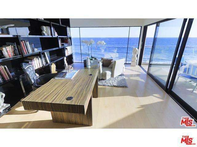 Office with an ocean view