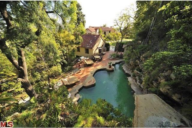 Katy Perry's Mansion in Hollywood Hills