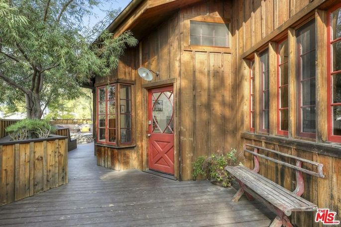 """Mamie Gummer's L.A. """"treehouse"""""""
