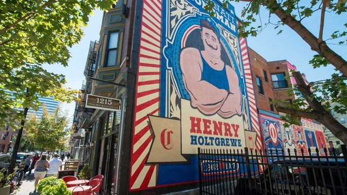 Dozens of murals and a perpetual love of beer