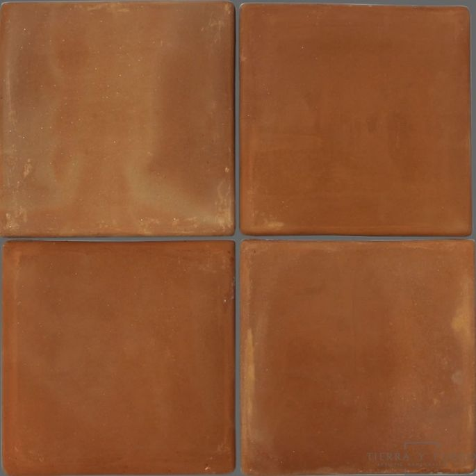 Gorgeous, earthy terra-cotta tiles can be used both outside and inside.