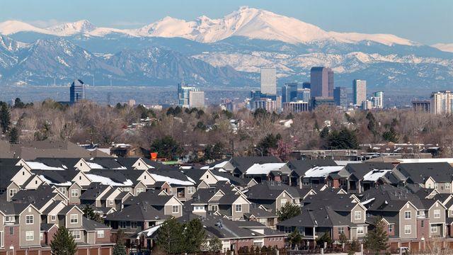 Homes around Denver, CO