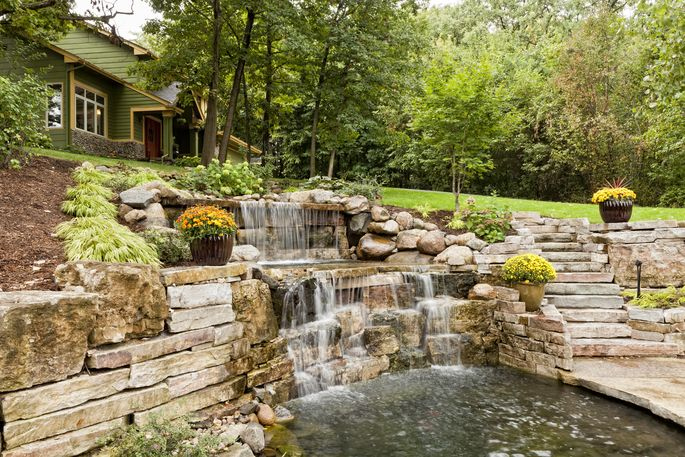 Think twice about the impression your water features are making on buyers.
