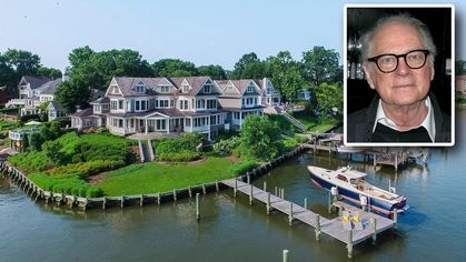 Filmmaker Barry Levinson Sells $5M Annapolis Mansion—Is There a Cal Ripken Connection?