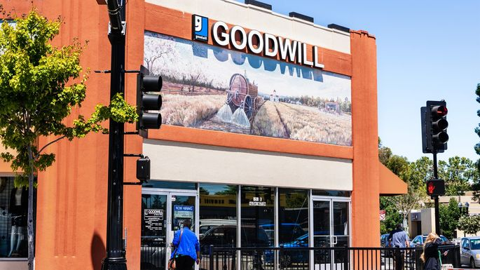 Donate old wearable clothes to places like Goodwill