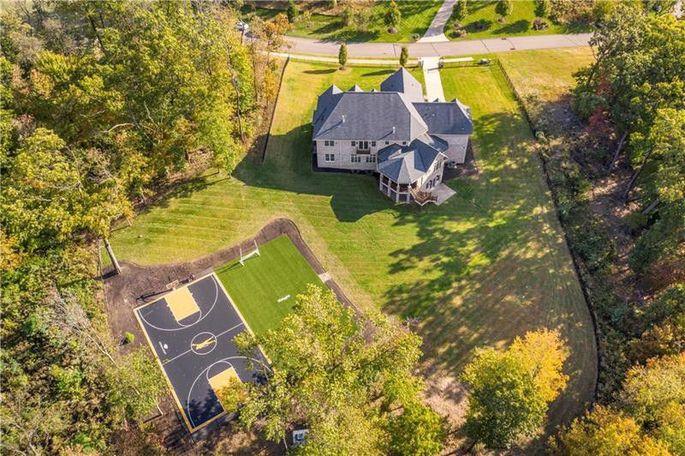 Antonio Brown's Pennsylvania home