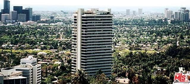 West Hollywood's famous Sierra Towers, home to the stars