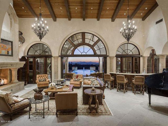 AZ most expensive listing living room