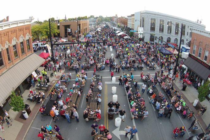 Annual Rib Fest in Defiance, OH