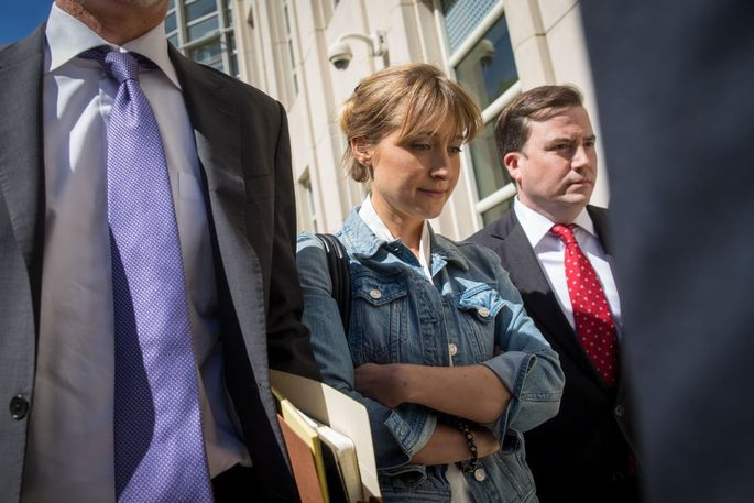 Actress Allison Mack's three-bedroom townhome is under preliminary forfeiture in the NXIVM case.