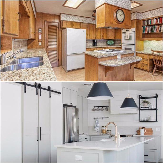 Joanna Gaines Kitchens And Galley: Exclusive Images Show Joanna Gaines' Latest Home, Before