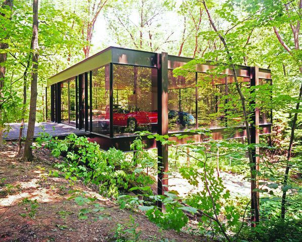 """Cameron's house in """"Ferris Bueller's Day Off"""""""