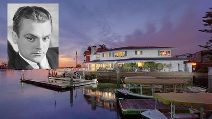 Must-See $10M Waterfront Home on an Island Once Owned by James Cagney
