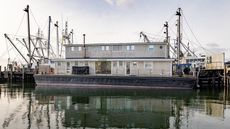 House on a Boat—but Not a Houseboat—for Sale in Massachusetts