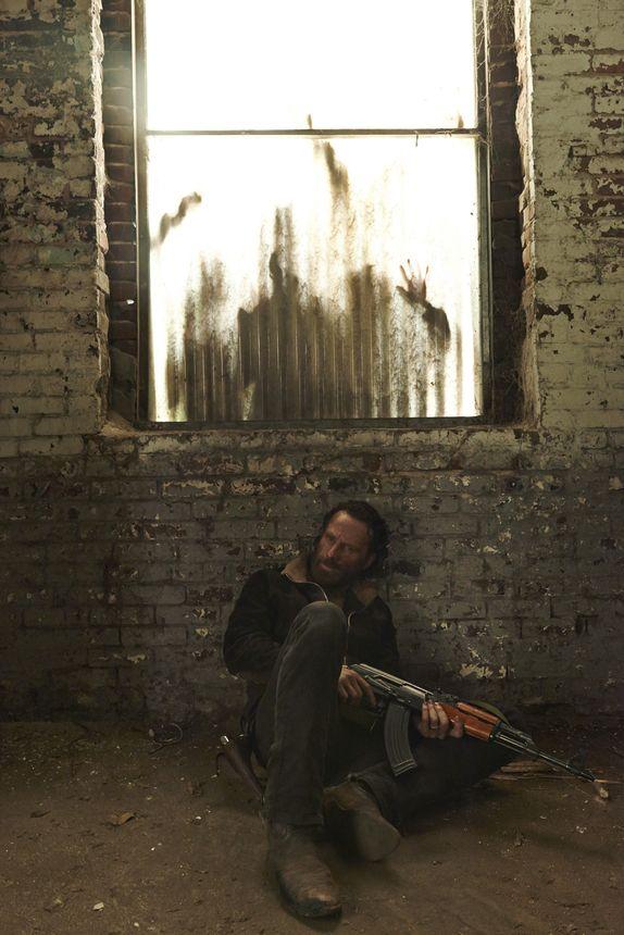 Andrew Lincoln as Rick Grimes in The Walking Dead, Season 5. Photo Credit: Frank Ockenfels 3/AMC