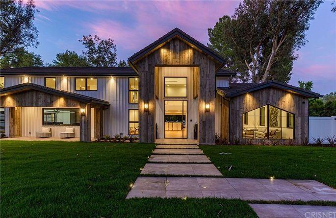The remodeled Hidden Hills home