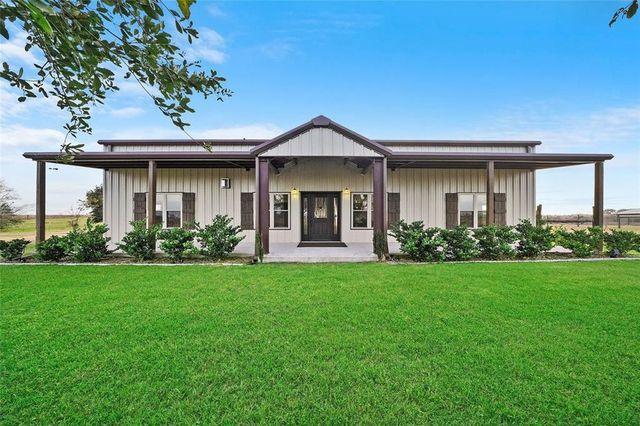 Barndominium in Sealy TX exterior