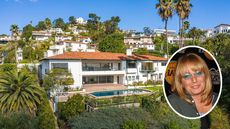 Penny Marshall's Los Angeles Estate Is Listed for $6.95M