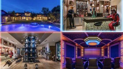 $26.5M Hidden Hills Mansion With Stupendous 'Star Wars' Basement Lands on Market