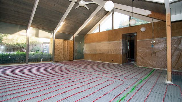 how much does radiant floor heating how much will you save