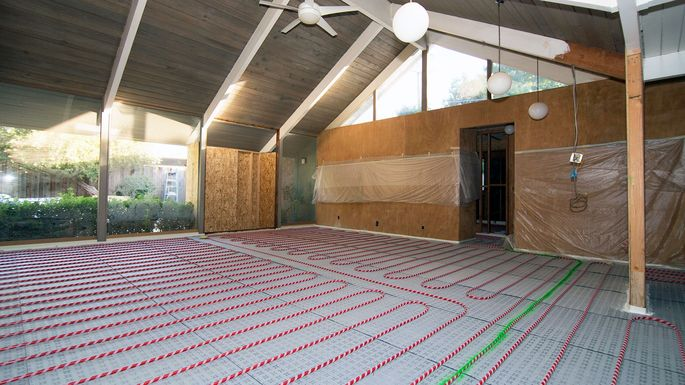 How Much Does Radiant Floor Heating Cost Pros And Cons Realtorcom - Cost of installing underfloor heating
