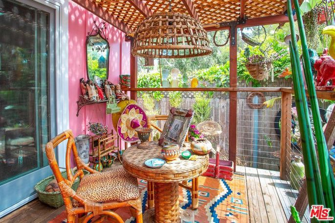 Whimsical seating area