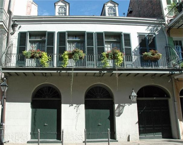 Angelina Jolie and Brad Pitt's home in New Orleans' French Quarter
