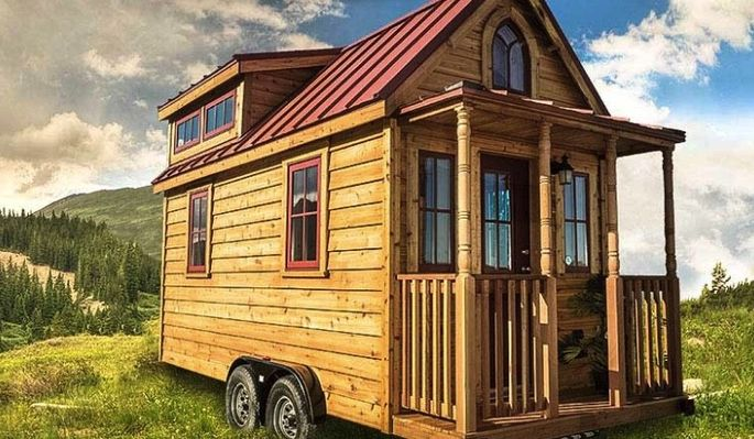 The Elm is a Tumbleweed Tiny House starting at $76,000.