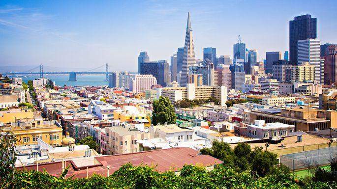 San Francisco, where the home prices are as steep as the hills