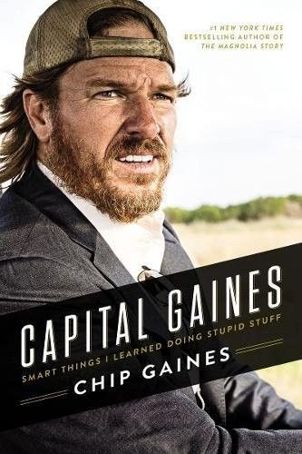 Chip Gaines' new book comes out this week.