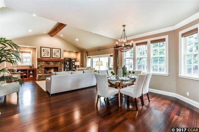 San francisco 49er legend brent jones lists 2 8m east bay for Living room channel 10 codeword