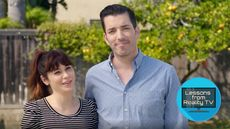 Zooey Deschanel Joins the Property Brothers for a Must-See Makeover